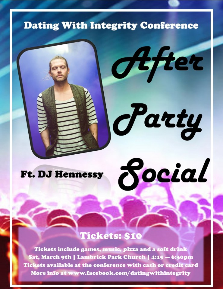 After Party Social Event Poster JPG